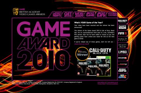 BAFTA Game Award 2010