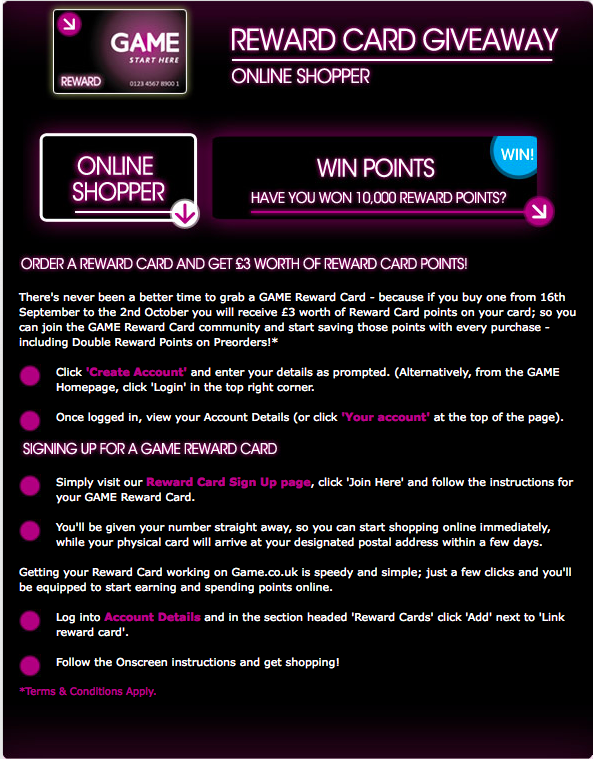 Game Reward Card 3
