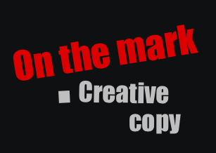 On The Mark Creative Copy - Creative copy and content for brands big and small