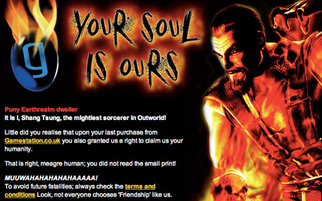 your soul is ours