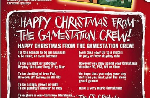 Happy Christmas from the Gamestation Crew!