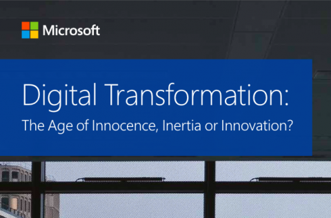 Telling the Microsoft Digital Transformation Story