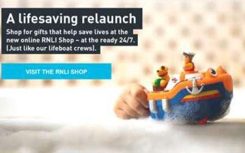 RNLI Shop Relaunch